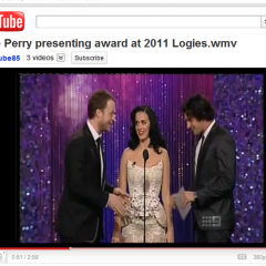Katy Perry Wears Filipino Designer Furne One's Creation at 2011 Logies