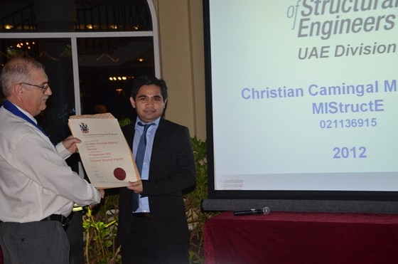 CHRISTIAN MAGADIA Head Structural Engineer – Ted Jacob Engineering Group, Beca Dubai, UAE