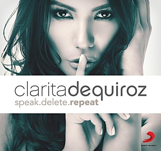 Clarita de Quiroz first solo album