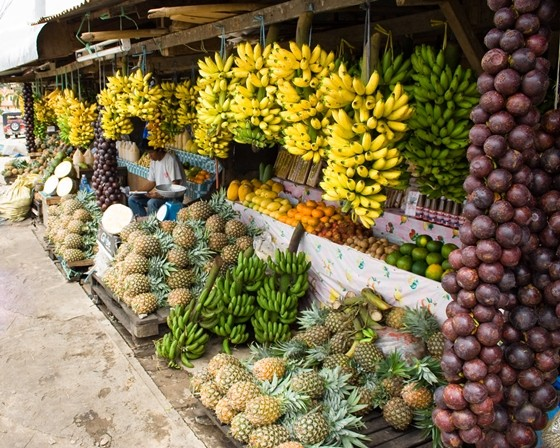 Fruit Stand in Tagaytay