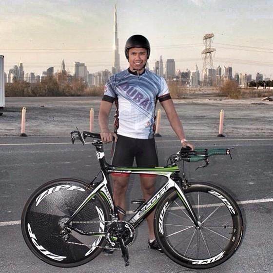 Ronald Molit President, Filipino International Triathletes