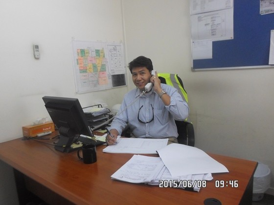 Joey Frank Ausan Construction Manager Qatar