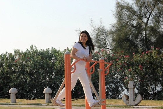 Melody M Dizon in Fujian Xiamen China