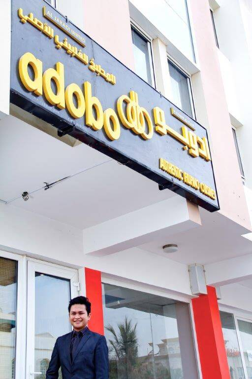 Filipino Entrepreneur Dowel Deligos in Oman