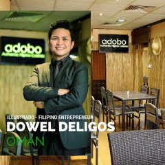 Filipino Entrepreneur – Dowel Deligos, Adobo Authentic Filipino Cuisine