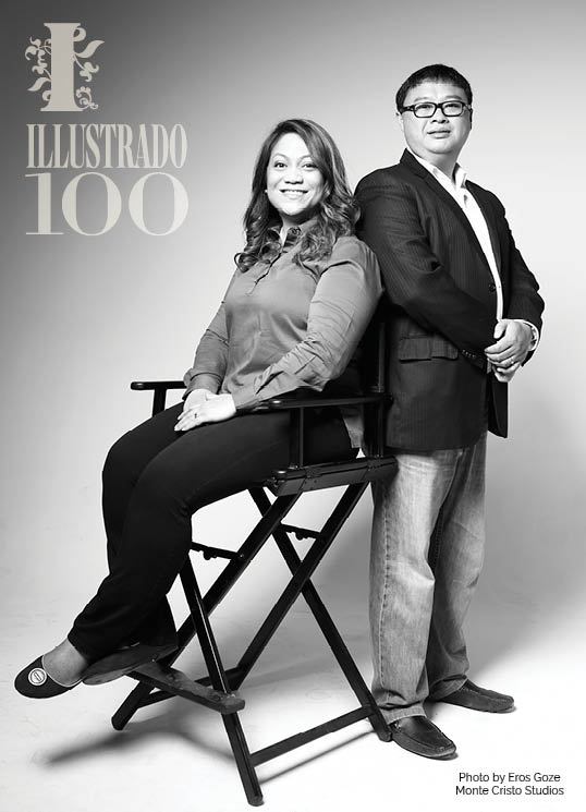 Rachel and Art Los Banos - Photo by Eros Goze for Illustrado Magazine