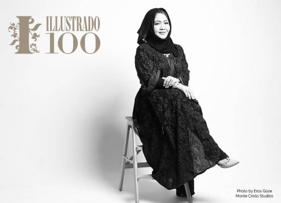 Mary Jane Alvero Al Mahdi - Photo by Eros Goze for Illustrado Magazine