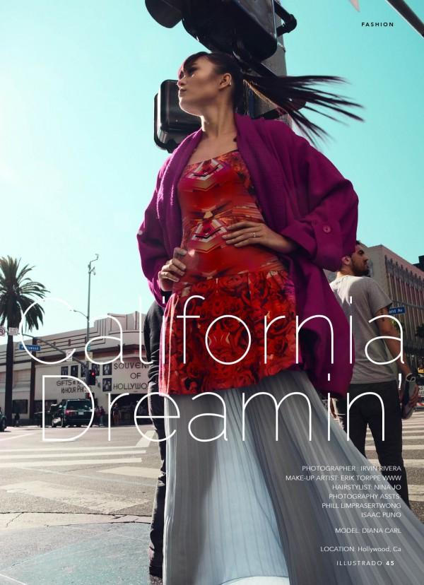 CALIFORNIA DREAMING – Shot by Irvin Rivera, Model - Diana Carl for Illustrado Magazine