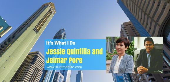 It's What I Do: Jessie Quintilla, Jeimar Pore