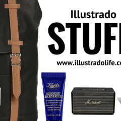 Illustrado Stuff: A Song of Ice and Fire, Herschel Backpack, Kielh's Midnight Recovery Eye, CK One, Marshall Stanmore Speaker