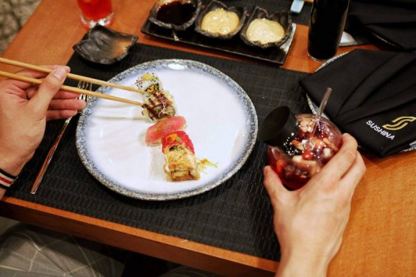 This New Restaurant Just Made Sushi Even Better
