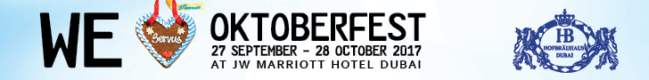 JW Marriot Dubai-Octoberfest