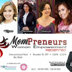 Event: PBC Abu Dhabi's MOMpreneur Women Empowerment Redefined – 10 Nov 2017